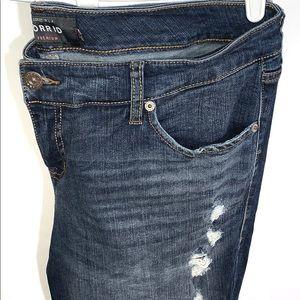 Torrid Distressed Boyfriend Jeans size 16R